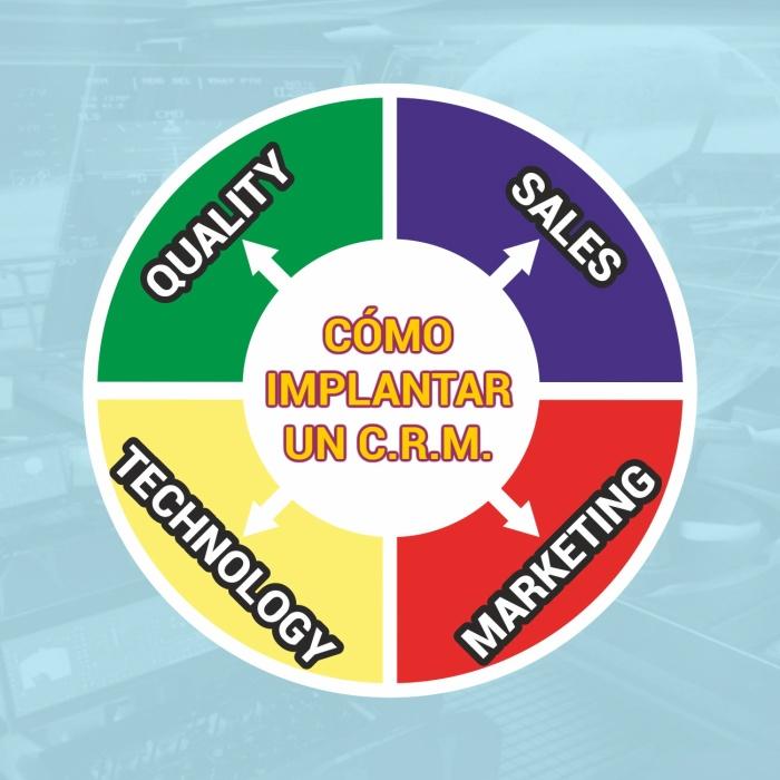 Logo Cómo implantar un CRM
